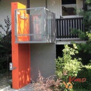 Alpin elevador sin cabina para silla de ruedas