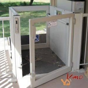 ELEVEX ascensor para silla de ruedas exterior region de murcia